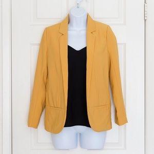 Jackets & Blazers - Mustard Yellow Blazer